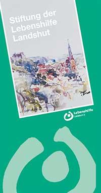 Flyer Stiftung der Lebenshilfe Landshut